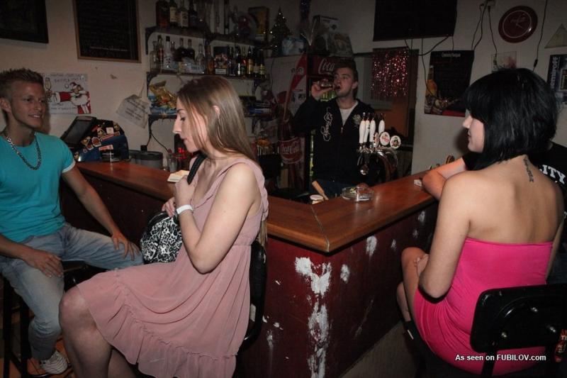 Amateur naked bar sluts means
